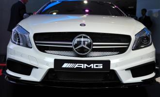 2014款A45 AMG 4MATIC
