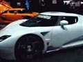 海外车展上实拍瑞典跑车柯尼赛格CCXR